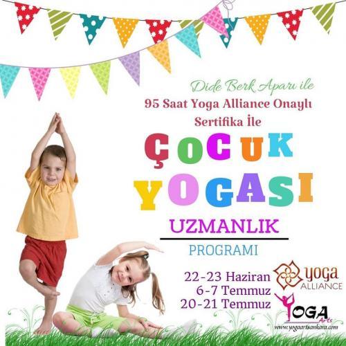 Çocuk Yogası Uzmanlaşma Programı