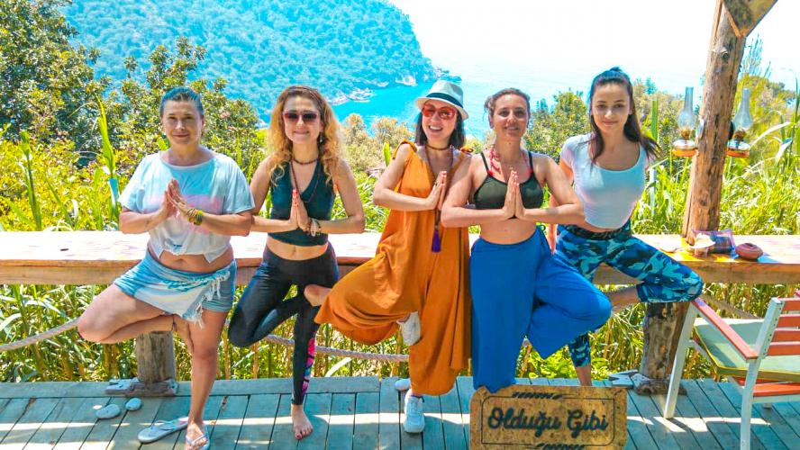 Bayramda Olympos'ta yogaya var mısın?