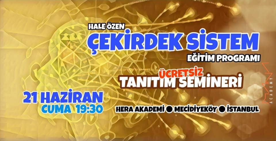 İstanbul Çekirdek Sistem Eğitim Program Tanırım Semineri