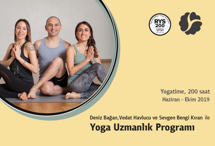 Yogatime 200 Saat Yoga Uzmanlık Programı