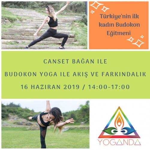 Canset Bağan ile Budokon® Yoga ile Akış ve Farkındalık