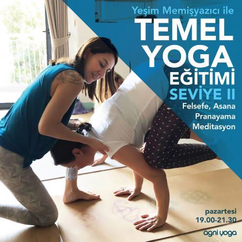 Temel Hatha Yoga Kursu – Seviye II