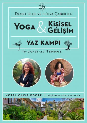 Demet Ulus ve Hülya Çabuk ile Yoga ve Kişisel Gelişim Yaz Kampı
