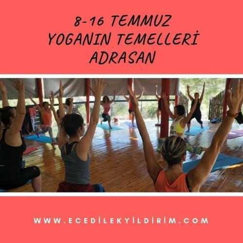 Adrasan'da Yoganın Temelleri