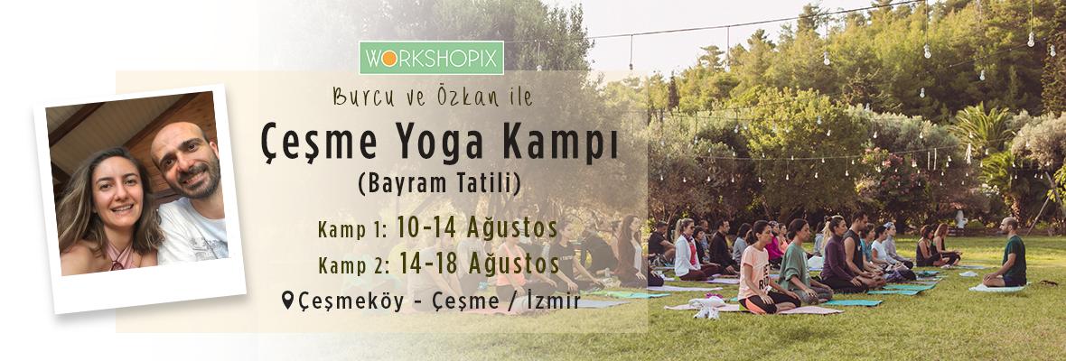 Çeşmeköy Yoga ve Meditasyon Kampı (Bayram Tatili) Burcu Gönenbaba