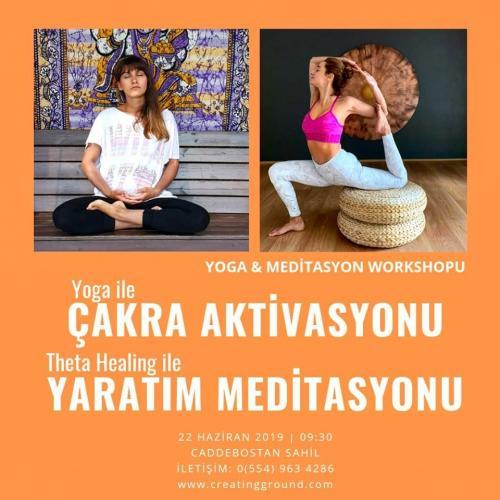 Yoga ve Theta Healing Meditasyonu Etkinliği