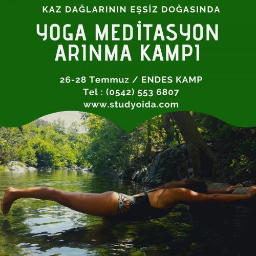 Stüdyo İda ile Kazdağları Yoga, Meditasyon ve Arınma Kampı Tuğçe Aydoğ