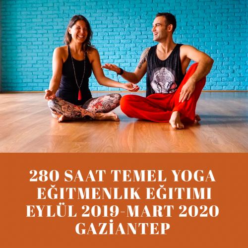 YogaKioo Onaylı 280 saat  Temel Yoga Eğitmenlik Eğitimi Gaziantep