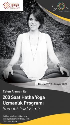 Çelen Arıman ile 200 saat Hatha Yoga Uzmanlık Programı (Somatik Yaklaşımlı)