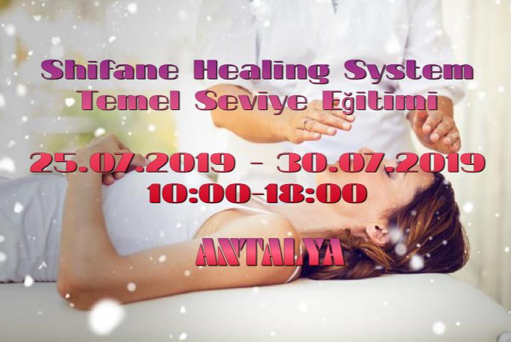 Antalya Shifane Healing System Temel Seviye Eğitimi