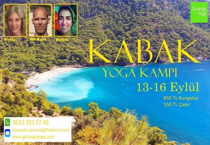 Kabak Yoga Kampı 13/16 Eylül 2019