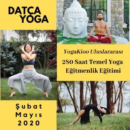 Yogakioo Uluslararası 280 Saat Temel Yoga Eğitmenlik Eğitimi - Datça