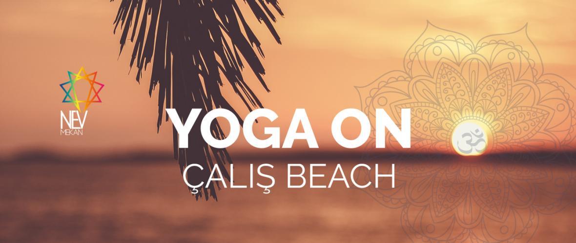 Yoga on Çalış Beach & Çalış Plajında Yoga