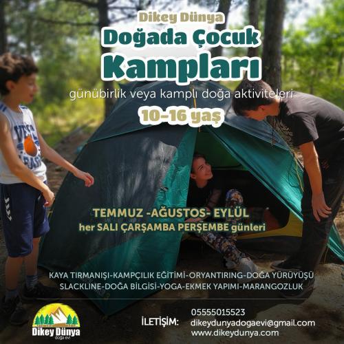 Doğada Çocuk Yaz Kampları'19
