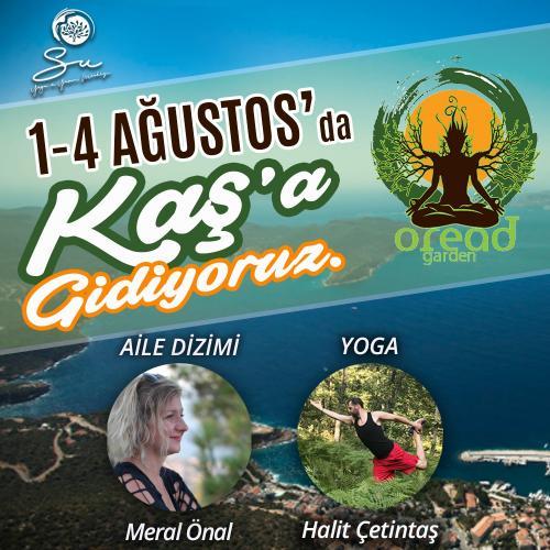 Kaş'ta Aile Dizimi ve Yoga Kampı