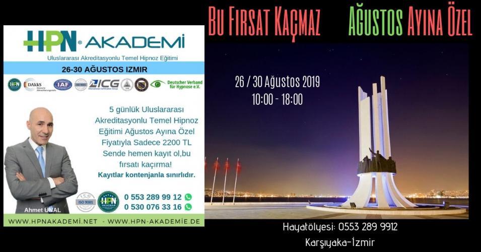 Ahmet Ünal '' Akreditasyonlu Temel Hipnoz Semineri ''