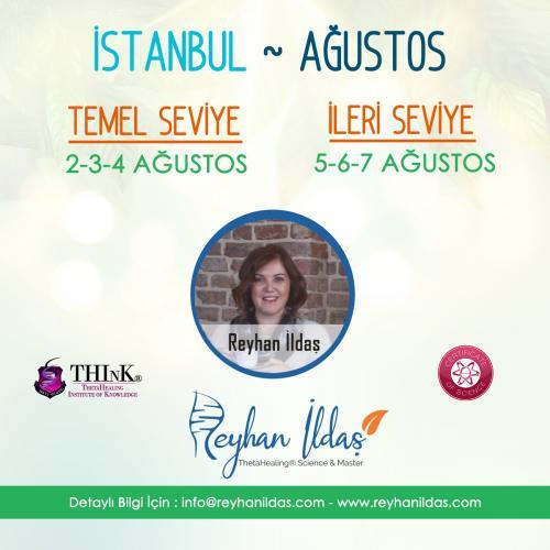 ThetaHealing® Basic Temel ve İleri Seviye Semineri - İstanbul