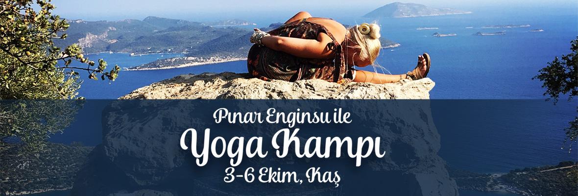 Pınar Enginsu ile Kaş'ta Yoga Kampı