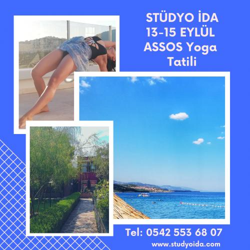 13-15 Eylül 2019 Assos Yoga, Meditasyon ve Arınma Tatili