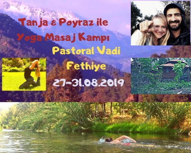 Tanja & Poyraz ile Yoga Masaj Kampı