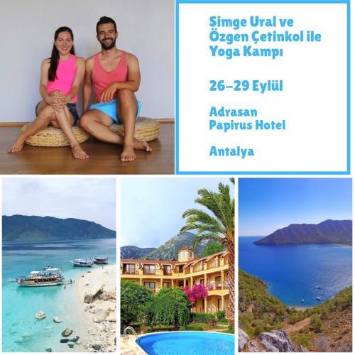 Simge Ural ve Özgen Çetinkol ile Yoga Kampı