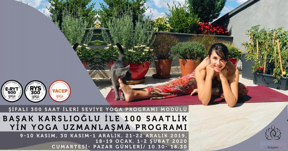 Başak Karslıoğlu ile Yin Yoga ve Anatomi Uzmanlık Programı