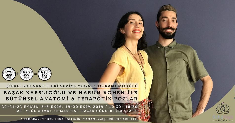 Harun Kohen & Başak Karslıoğlu ile Bütünsel Anatomi & Terapötik Pozlar