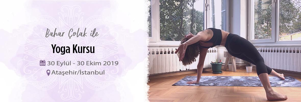 Bahar Çolak ile Yoga Kursu