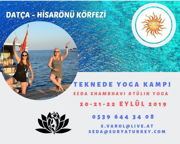 Teknede Yoga Kampı Seda Shambavi