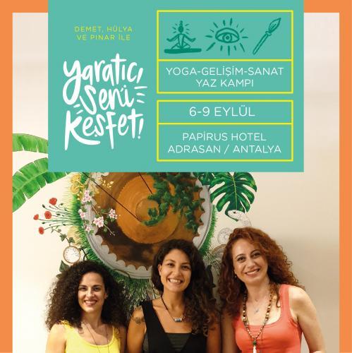 Yaratıcı Seni Keşfet Yoga-Gelişim-Sanat Yaz Kampı