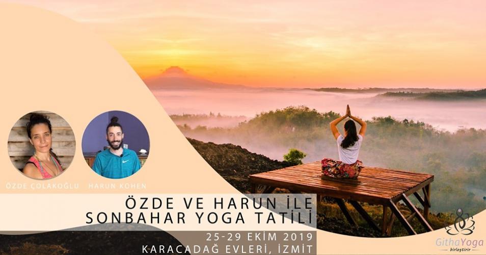 Özde & Harun ile Sonbahar Yoga Tatili