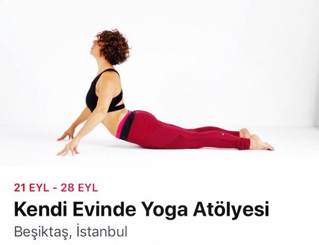 Kendi Evinde Yoga Atölyesi