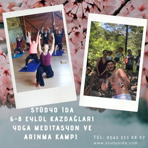 Stüdyo İda ile Kazdağları Yoga, Meditasyon ve Arınma Kampı