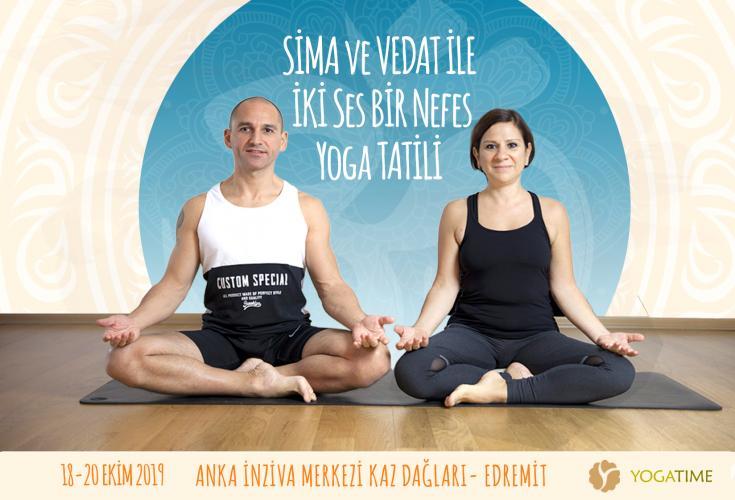Sima ve Vedat'la İki Ses Bir Nefes Yoga Tatili
