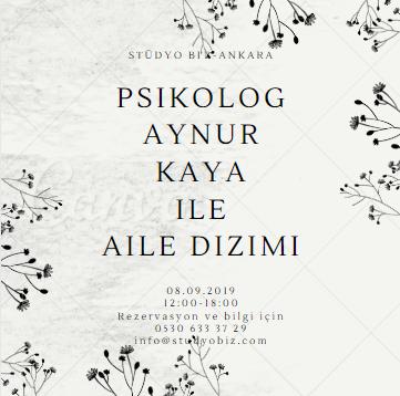 Psikolog Aynur Kaya ile Aile Dizimi