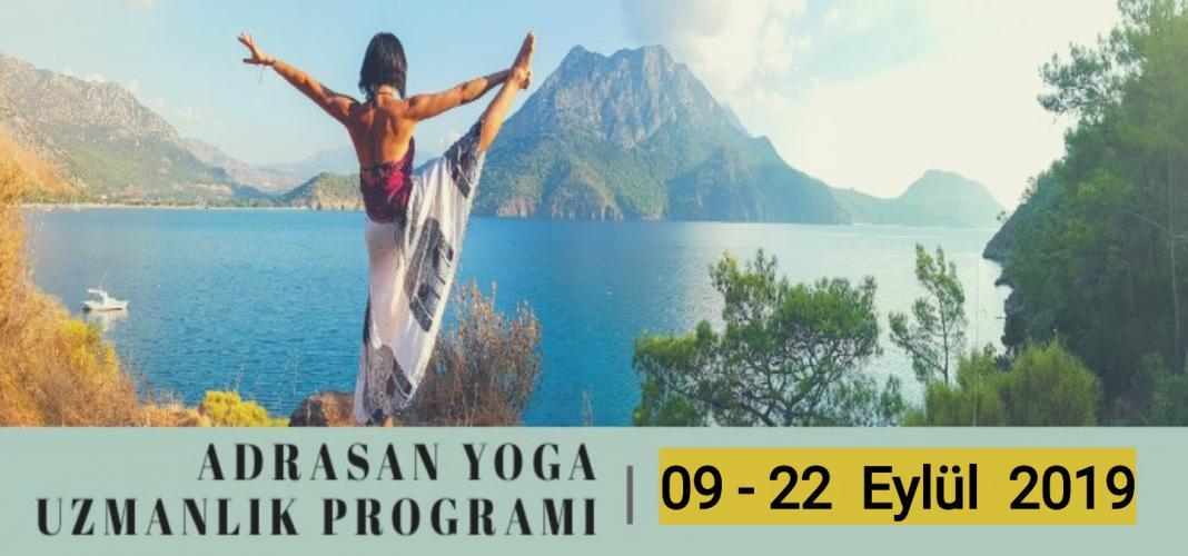Konaklamalı Temel Yoga Uzmanlık Programı Adrasan