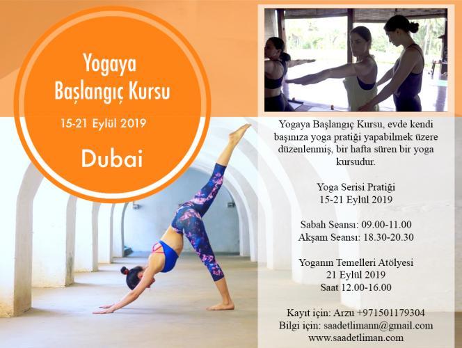 Dubai Yogaya Başlangıç Kursu
