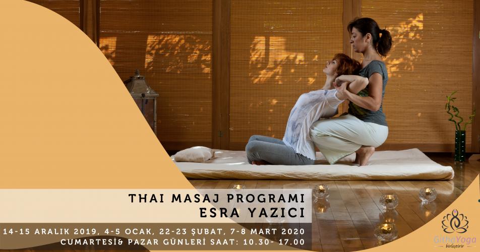 Esra Yazıcı ile Thai Masaj Programı