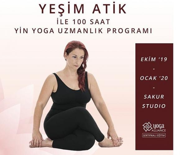 Yeşim Atik ile 100 Saat Yin Yoga Uzmanlaşma Programı Yeşim Atik