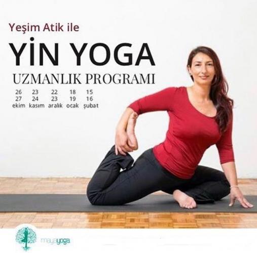 Yeşim Atik ile 100 Saat Yin Yoga Uzmanlaşma Programı