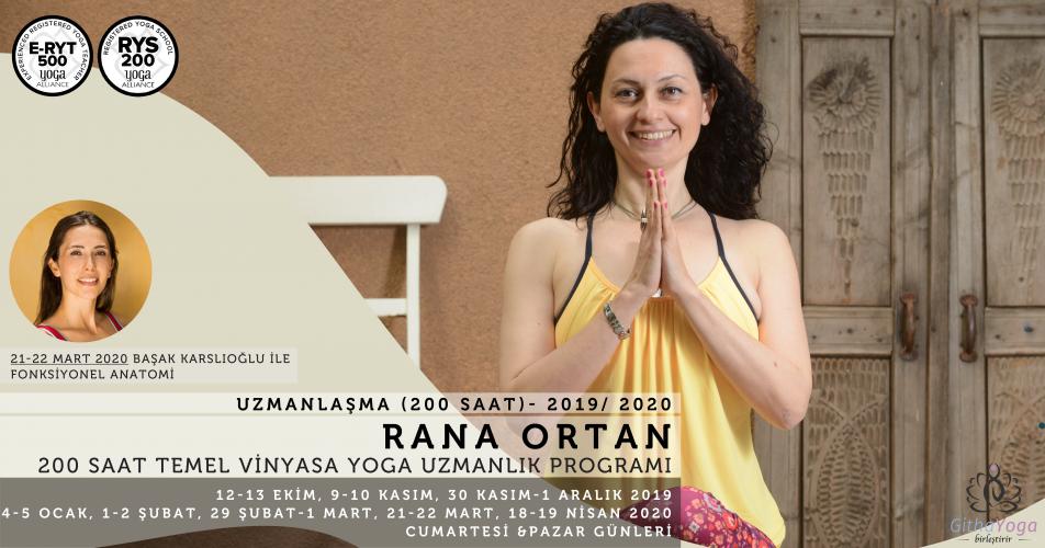 Rana Ortan ile Vinyasa Yoga Uzmanlık Programı Başak Karslıoğlu