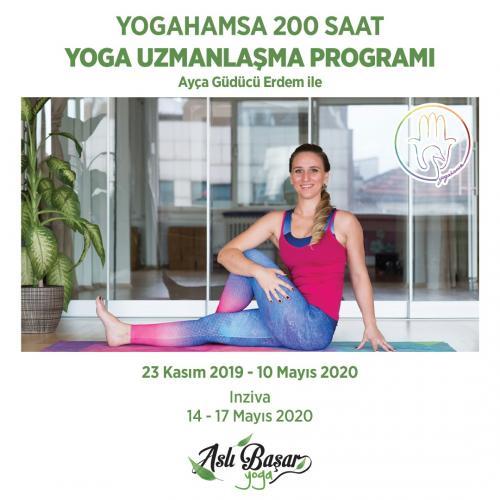 YogaHamsa 200 saat Yoga Uzmanlaşma Programı ( İzmir )