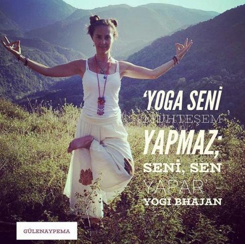 Yoga Eğitmenliği Programı 200 Saat Gülenay Pema Gauri