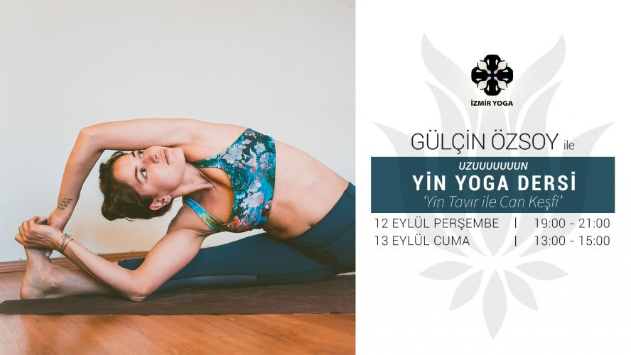 Uzun Yin Yoga Dersi