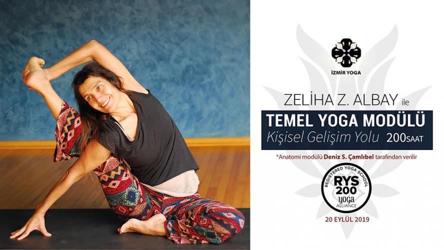 """200 saat / 8 Modül Yoga Alliance Onaylı Temel Yoga Modülü """"Kişisel Gelişim Yolu"""""""