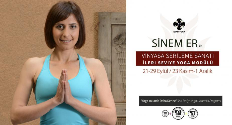 """""""Vinyasa Serileme Sanatı"""" İleri Seviye Yoga Modülü (60 Saat) 'Parçalardan, Akış İçinde Bütünlüğe'"""