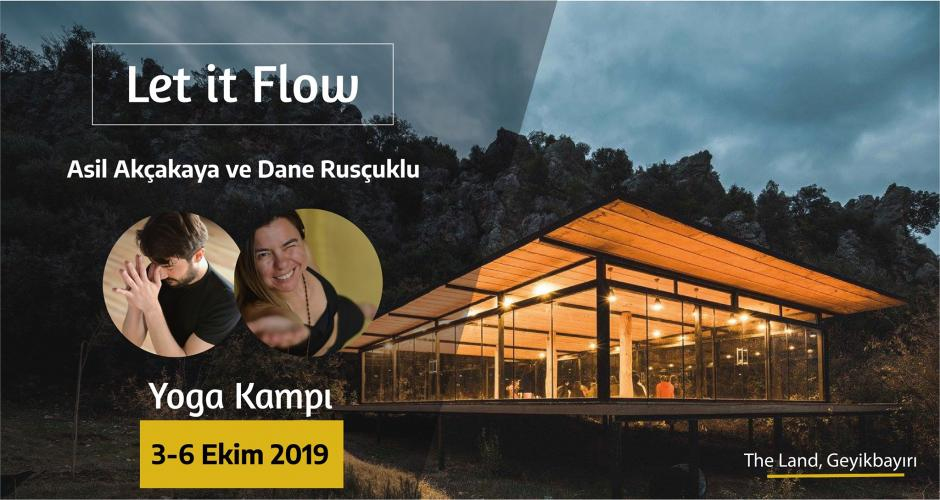 """Let It Flow"" Yoga Kampı"