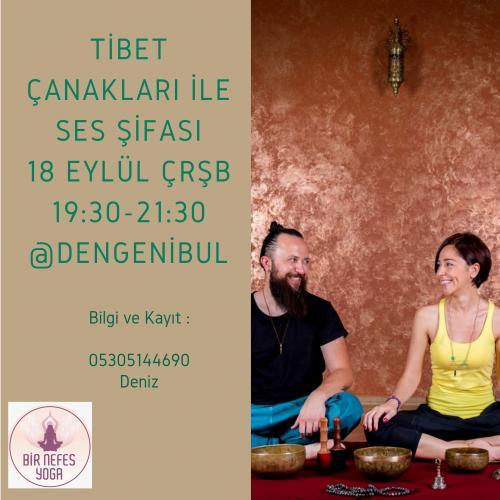 Tibet Çanakları ile Ses Şifası