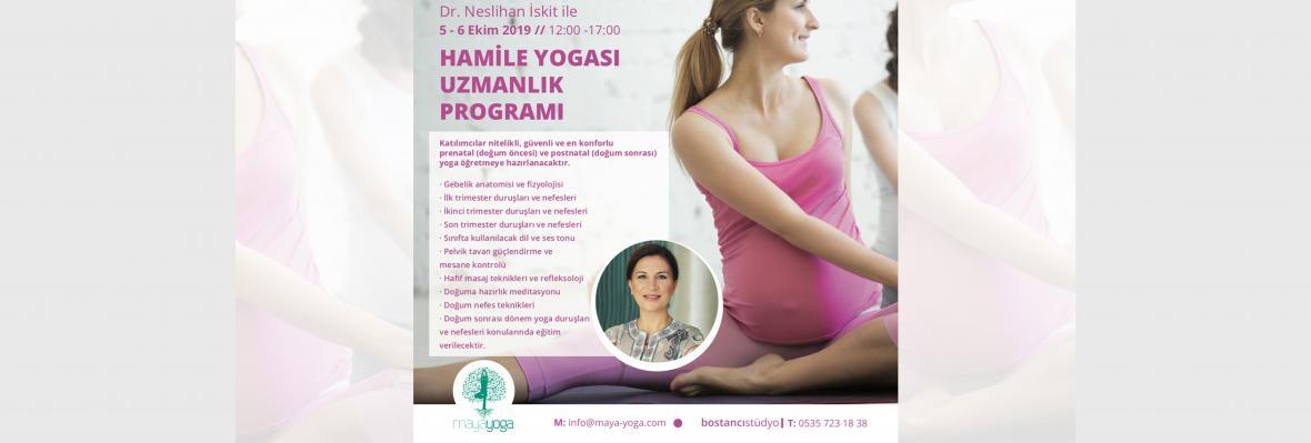 Dr.Neslihan İskit ile Hamile Yogası Uzmanlık Programı