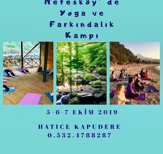 Nefes Köy'de Yoga Ve Farkındalık Kampı